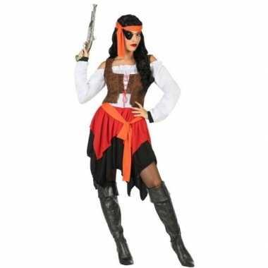 Piraat mary verkleed pak/verkleedkleding voor dames