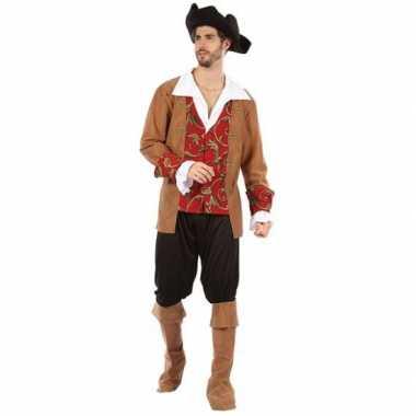 Piraten verkleed verkleedkleding voor heren