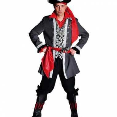 Piraten verkleedkleding luxe voor heren