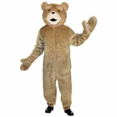 Pluche beren verkleedkleding ted