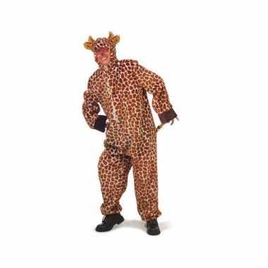 Pluche giraffe verkleedkledings