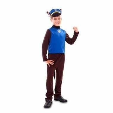 Politie hond verkleedkleding voor jongens