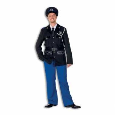 Politie verkleedkleding polyester voor heren
