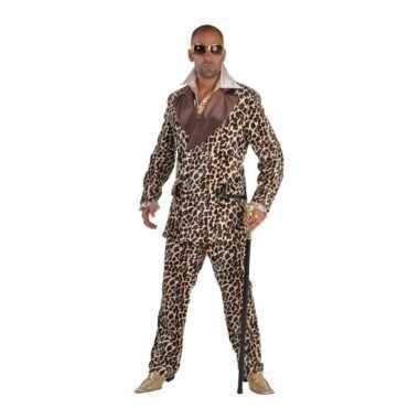 Pooier verkleedkledings met panterprint