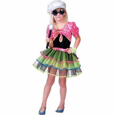 Popster verkleedkleding voor meisjes