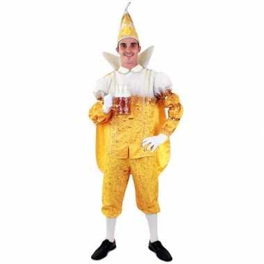 Prins carnaval pils/bier verkleedkleding voor heren