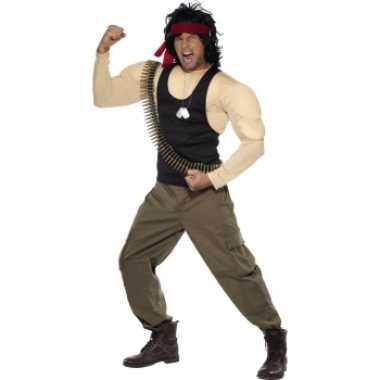 Rambo verkleed verkleedkledings voor heren