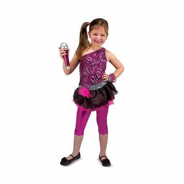 Rock ster verkleedkleding voor meisjes