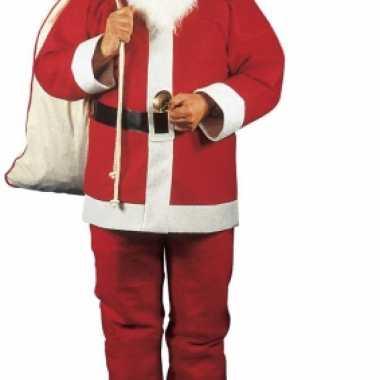 Rode kerstmannen verkleedkleding voor heren