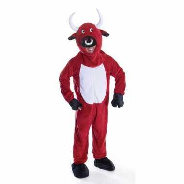 Rode stier verkleedkleding voor volwassenen