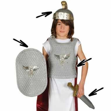 Romeinse ridder carnavalsverkleedkleding voor kinderen