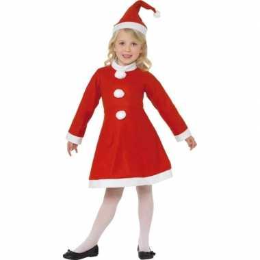 2409cfe3367c0f Rood kerst verkleedkleding meiden