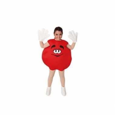 Rood snoep snoepje kinder verkleedkleding