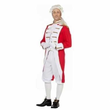 Rood wit presentator verkleedkleding