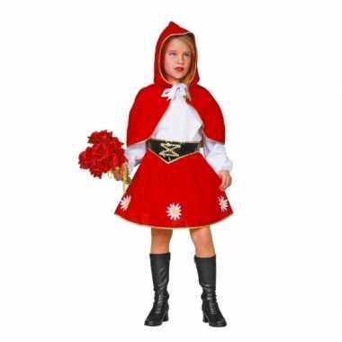 Roodkapje verkleedkleding voor kinderen