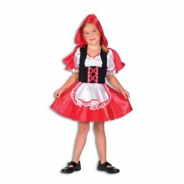 Roodkapje verkleedkleding voor meiden