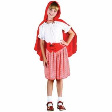 Roodkapje verkleedkleding voor meisjes