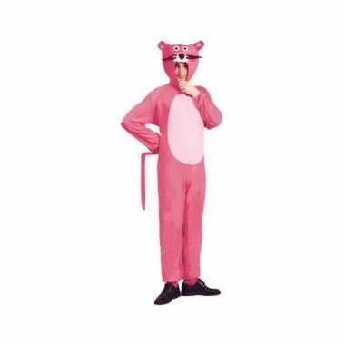 Roze panter verkleedkleding voor volwassenen