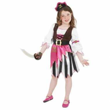 Roze piraten verkleedkleding