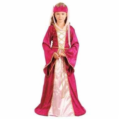 Roze prinsessen verkleedkleding voor meisjes