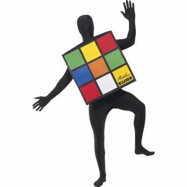Rubiks kubus verkleedkleding volwassenen