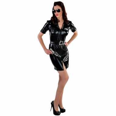Sexy fbi politie verkleedkleding voor dames