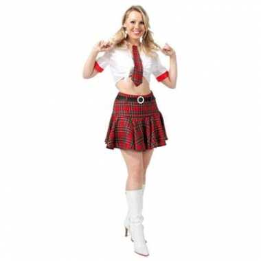 Sexy school verkleedkleding voor dames