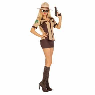Sexy sheriff verkleedkleding voor dames