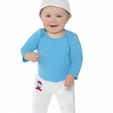 Smurfen verkleedkleding voor baby's