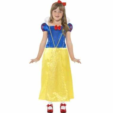 Sneeuwwitje carnaval verkleedkleding voor meisjes