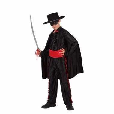 Spaanse gemaskerde held verkleedkleding voor jongens