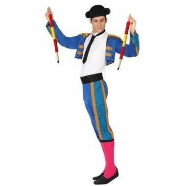 Spaanse matador/stierenvechter verkleed verkleedkleding voor heren