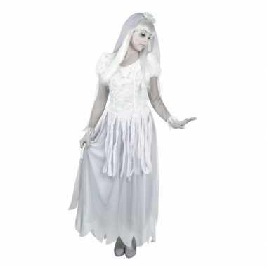 Spook bruid verkleedkleding voor dames