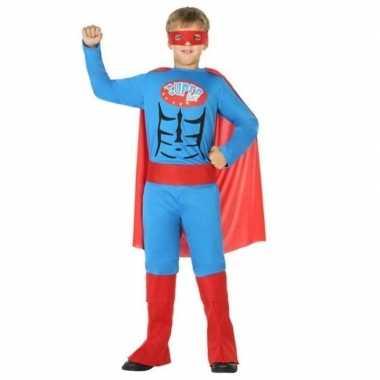 Superheld pak/verkleed verkleedkleding voor jongens