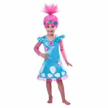 Trolls poppy verkleedkleding voor meiden