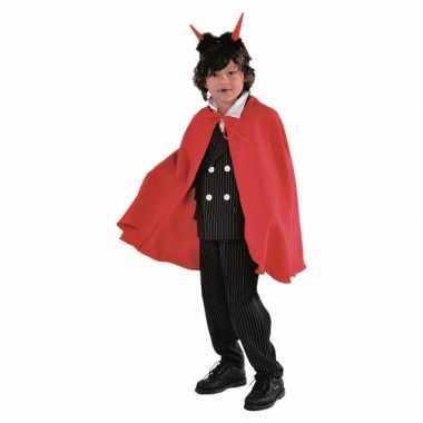 Vampier verkleedkledings cape rood