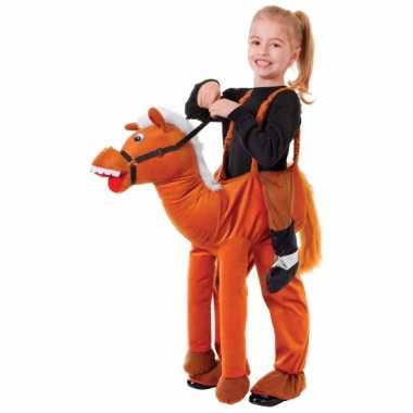 Verkleed stap in paard verkleedkleding voor kids