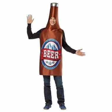 Verkleedkleding bier flesje