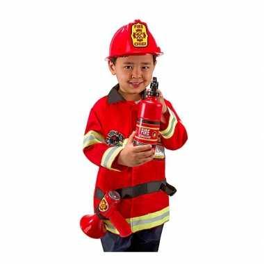 Verkleedkleding brandweer voor kids