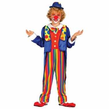 Verkleedkleding clown kostuum voor kinderen