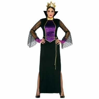 Verkleedkleding luxe heksen jurk voor dames