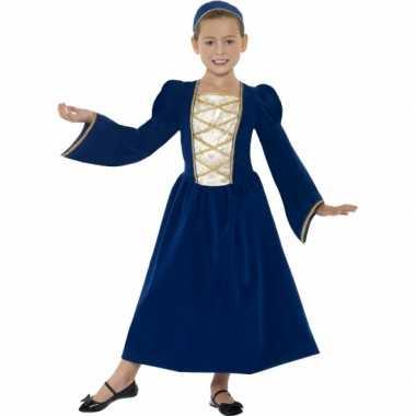 Verkleedkleding middeleeuws prinses jurkje