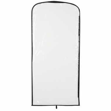 Verkleedkleding opberghoes transparant 95 x 42 cm