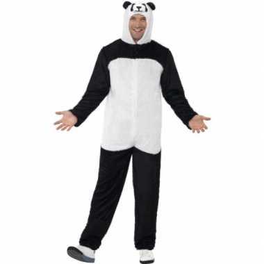 Verkleedkleding panda kostuum