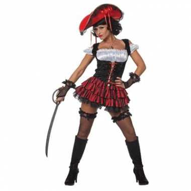 Verkleedkleding piraten jurk dames