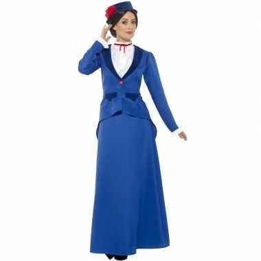 Victoriaanse kinderjuffrouw verkleedkleding voor dames