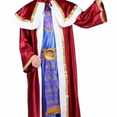 Wijzen uit het oosten melchior verkleedkleding voor heren