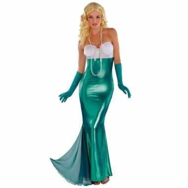 Zeemeermin/zeemeerminnen verkleedkleding feestkleding voor dames