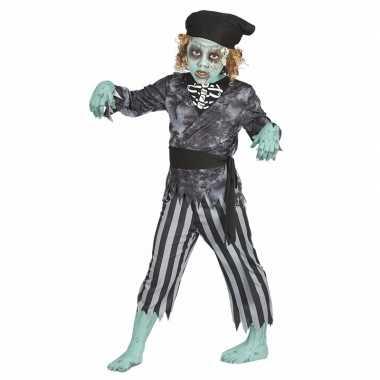 Zombie piraten verkleedkleding voor jongens