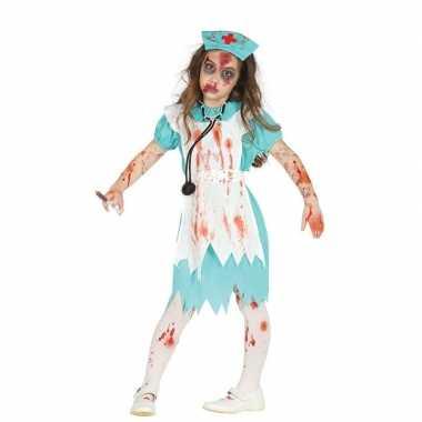 Zombie verpleegster/zuster verkleedverkleedkleding voor meisjes